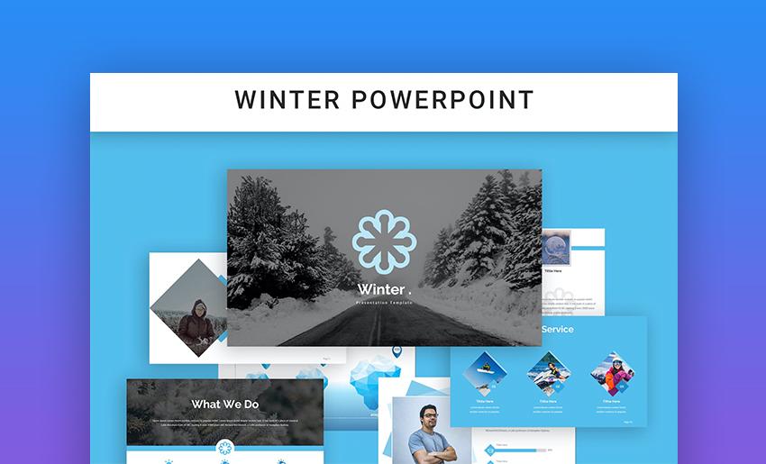 Winter PowerPoint background