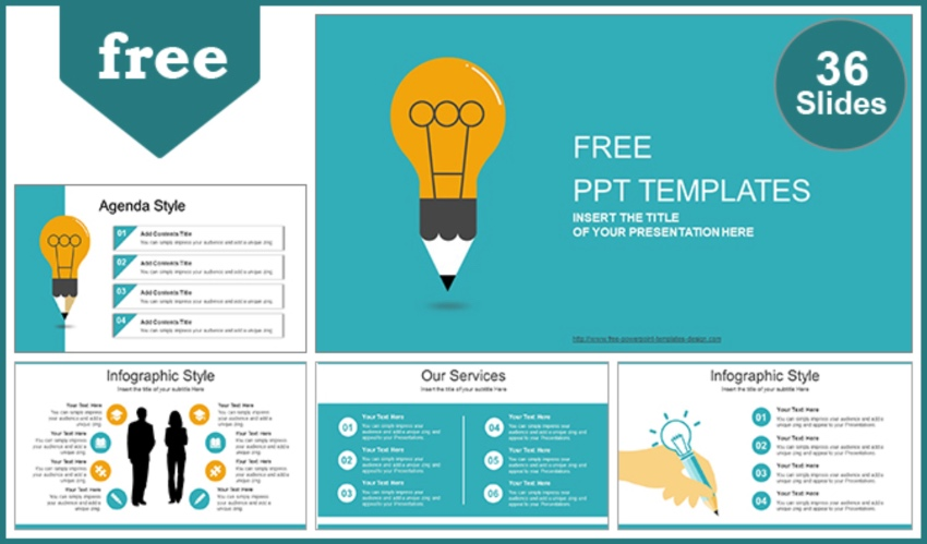 Free icons for PowerPoint