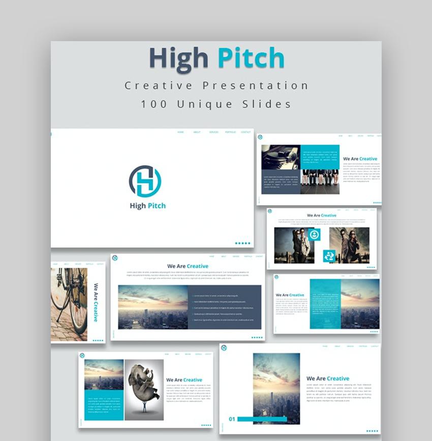 Pitch presentation