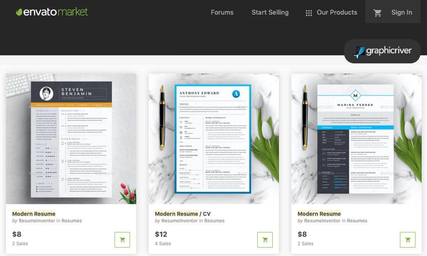 20 best free modern resume templates  download clean cv