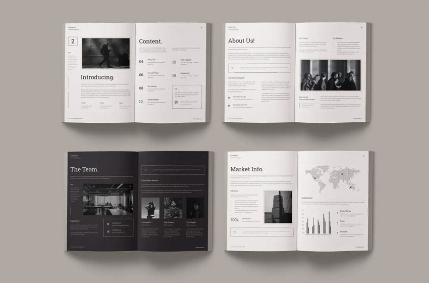 18 Best Adobe InDesign Annual Report Templates & Covers (Free + Premium 2021)