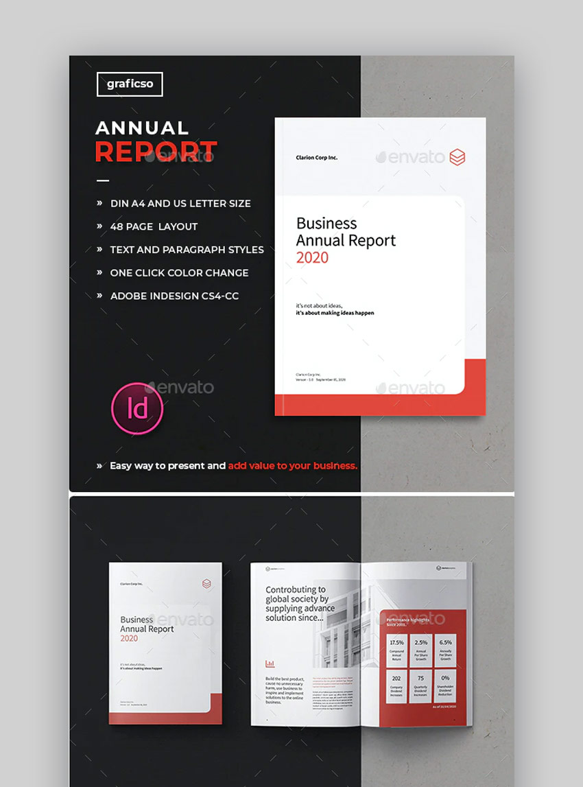 GR annual report template