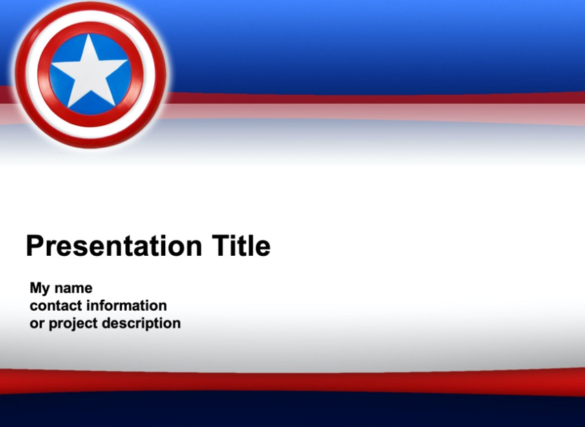 Free patriotic PowerPoint slides
