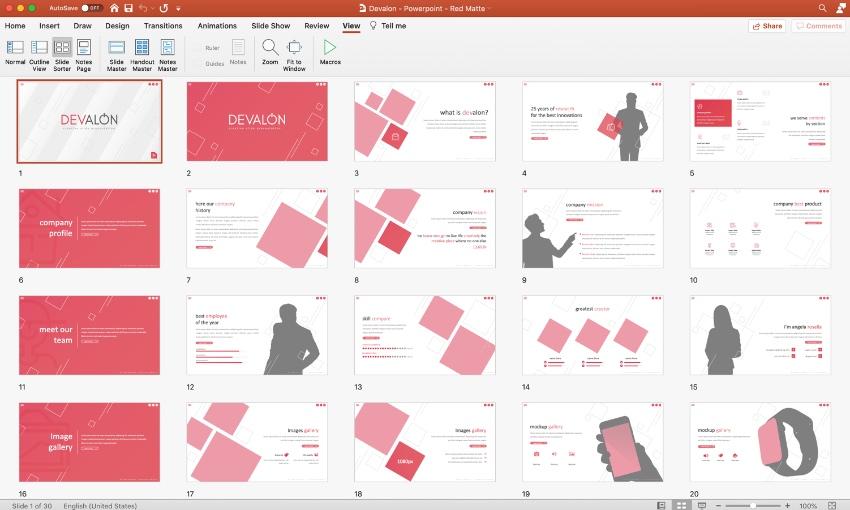 Customize PowerPoint flyer templates