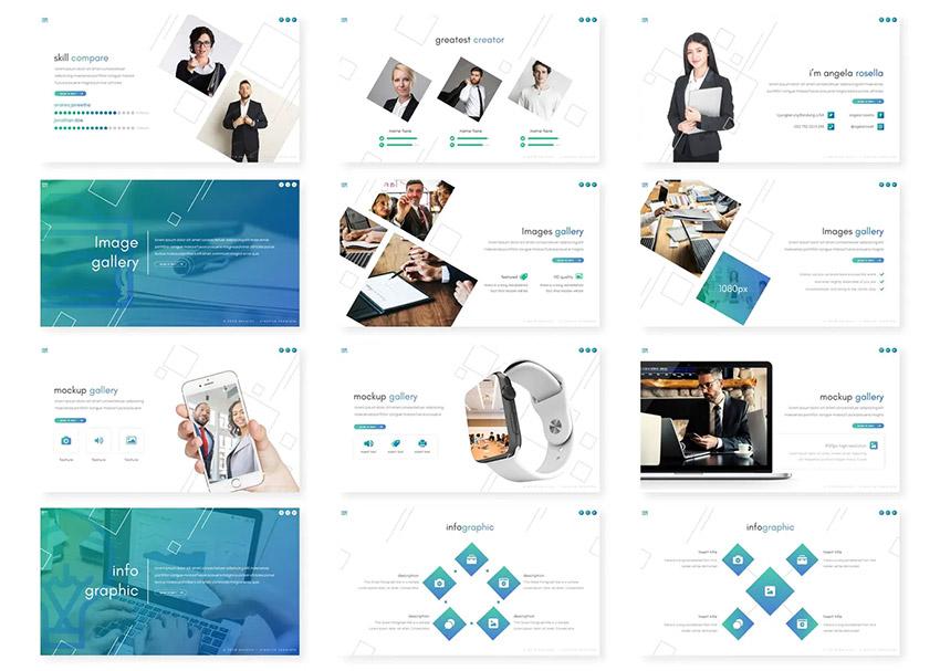 Devalon PowerPoint event flyer templates