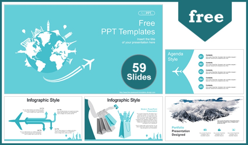 Flyer template PowerPoint free download