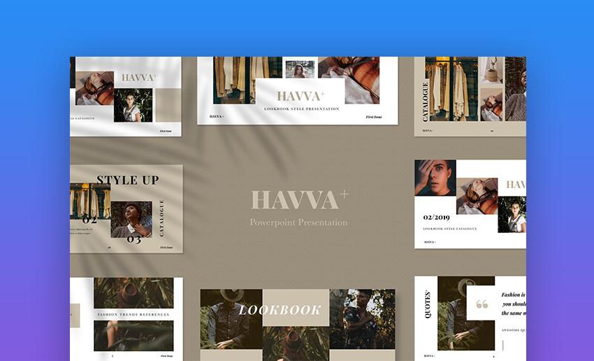 Havva flyer PowerPoint