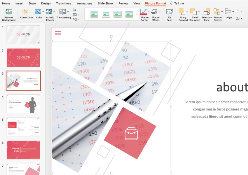 Image how to make a flyer using Microsoft PowerPoint