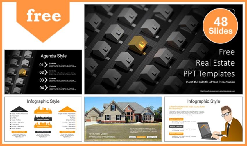 Presentation flyer templates free