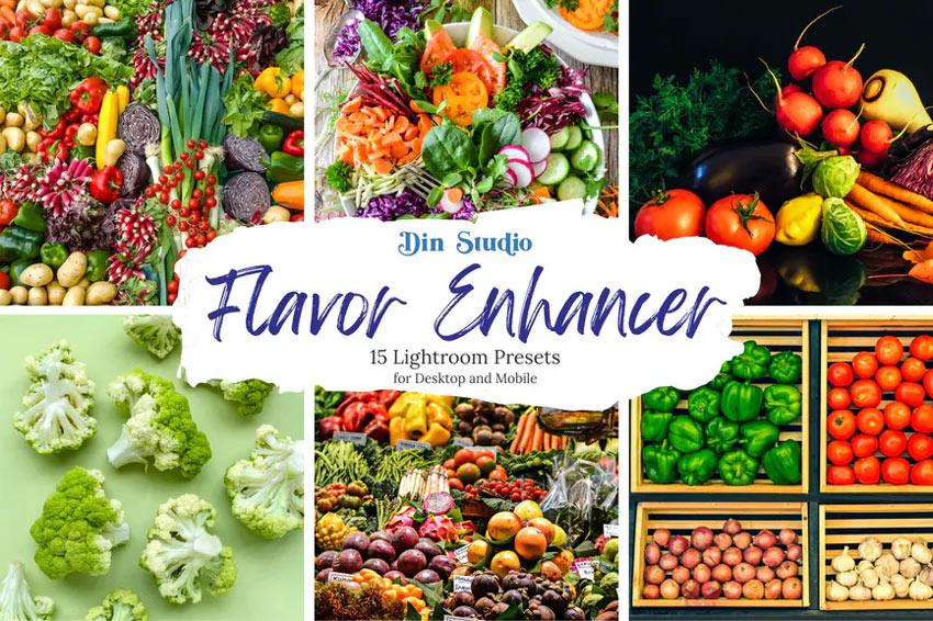 Flavor enhancer Lightroom preset