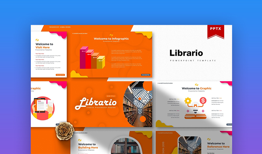 librario how to reduce PowerPoint file size
