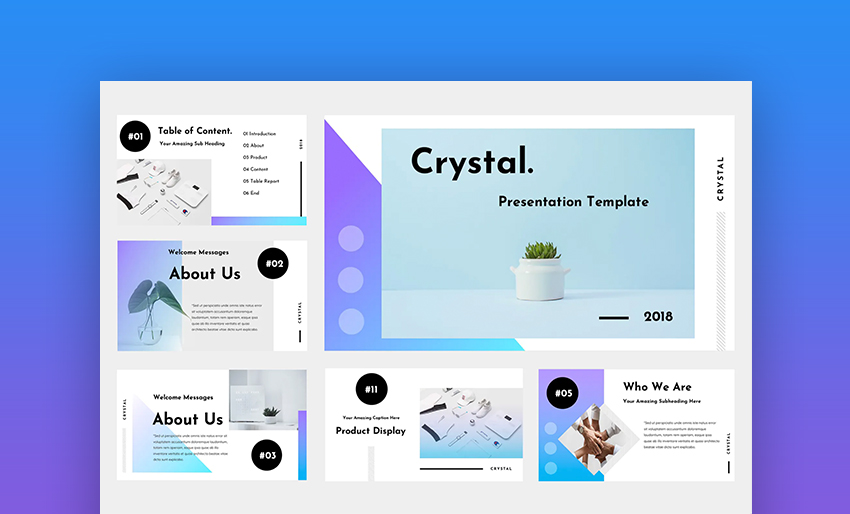 Crystal agency presentation software
