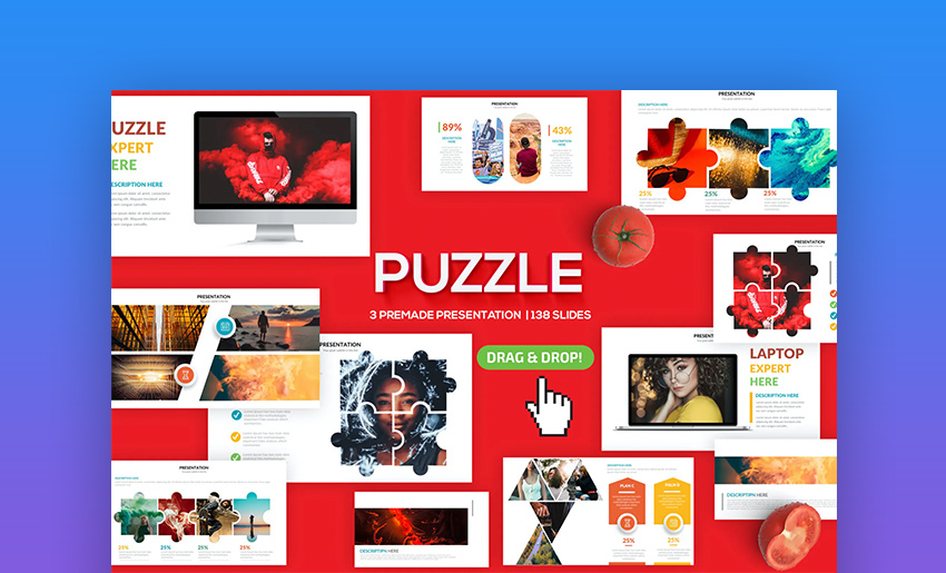 PowerPoint puzzle animation