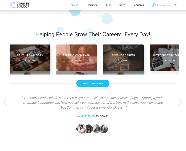 CBKit - Course  LMS WordPress Theme
