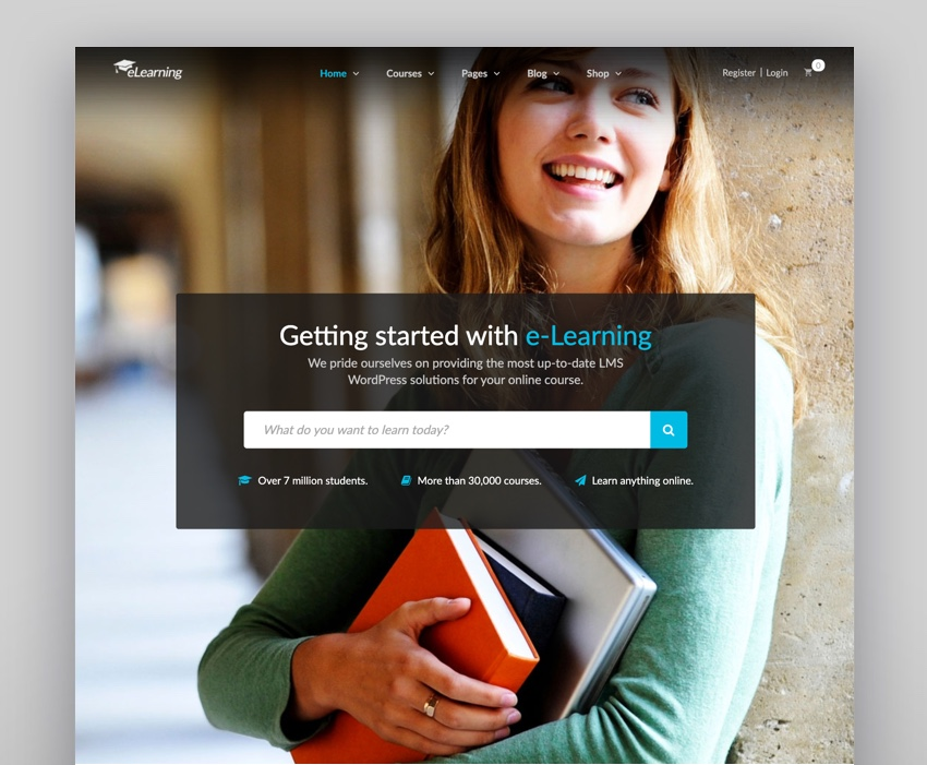 Epsilon - eLearning LMS WordPress Theme
