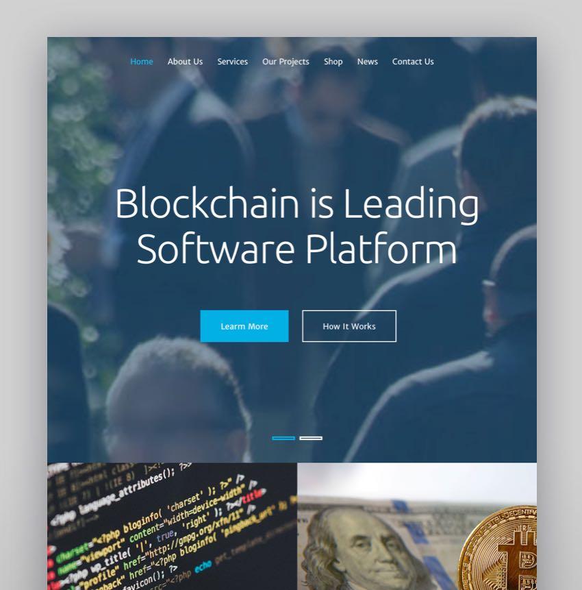 Blockcaten - Consulting WordPress Theme