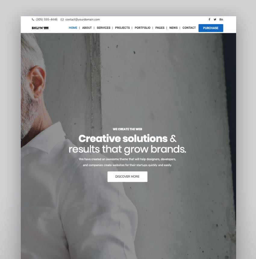 Brooklyn - Creative Multipurpose Responsive WordPress Theme