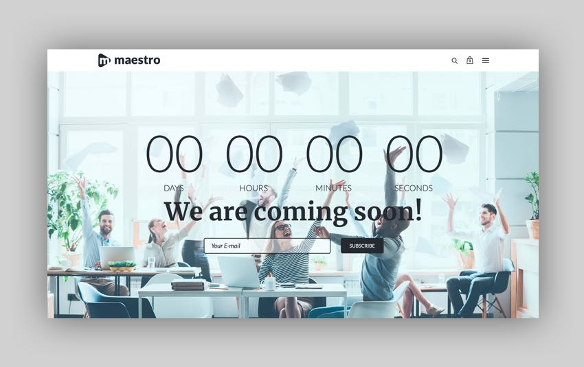 Maestro - Business WordPress Theme