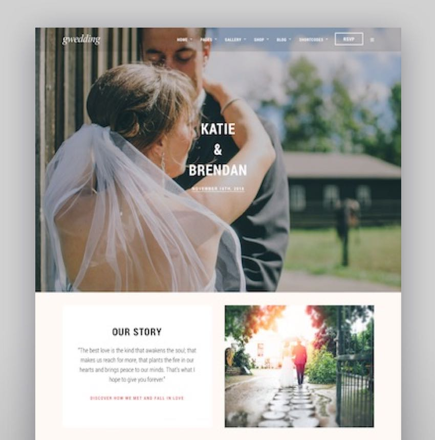 Grand Wedding WordPress