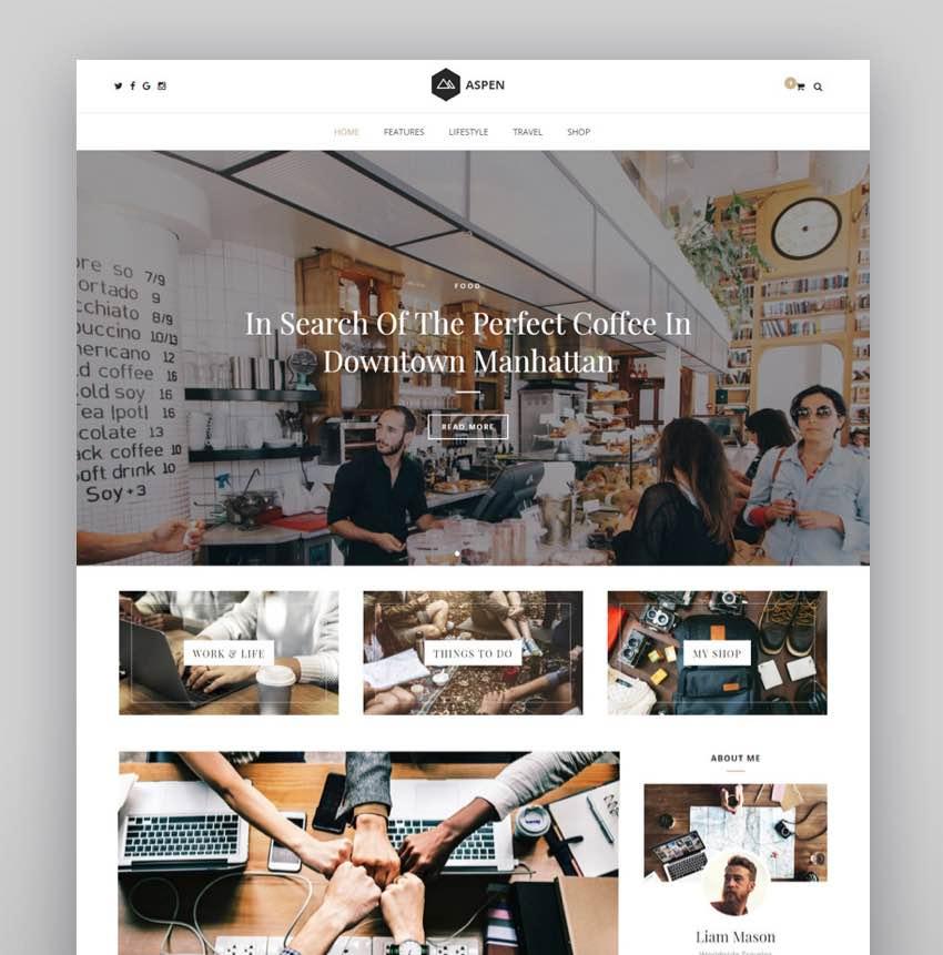 Aspen - Price Compare WordPress Theme