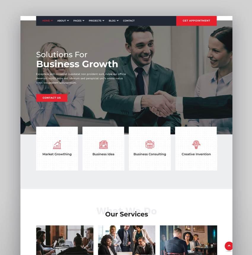 Bremond - Multipurpose Business Consulting WordPress Theme