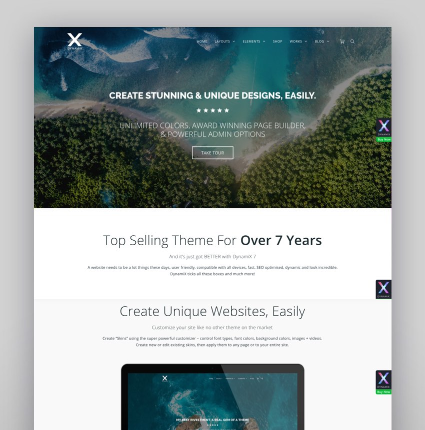 DynamiX - Business  Corporate WordPress Theme