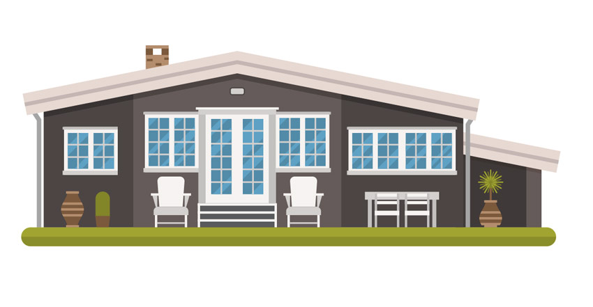 How to Create a Modern Cottage in a Scandinavian Style in Adobe Illustrator