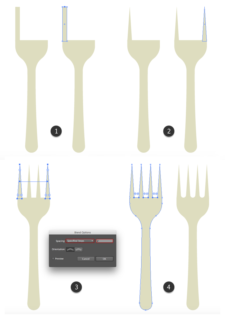 Finishing the fork