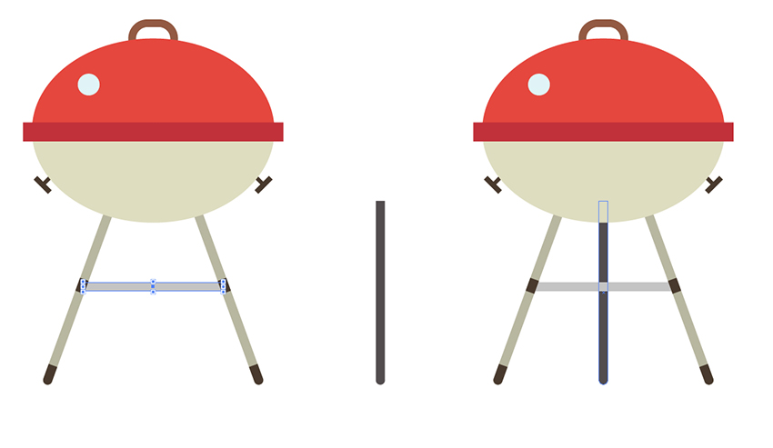 "How to Create a ""BBQ Time"" Concept Illustration in Adobe Illustrator"