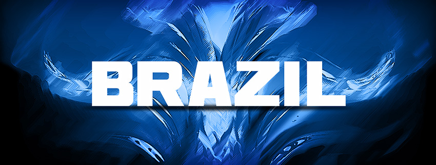 Background image with BRAZIL written on it