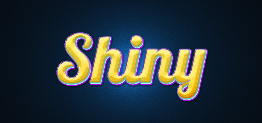 How to Create a Colorful and Shiny Text Effect in Adobe Photoshop