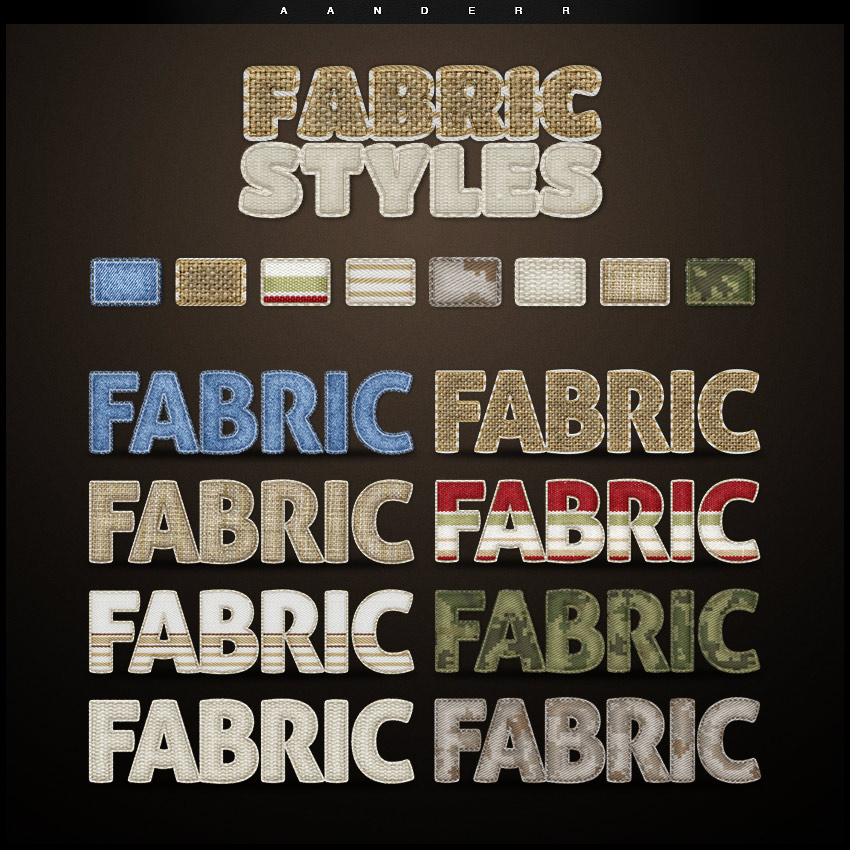 How to Create a Camo Fabric Text Effect in Adobe Photoshop