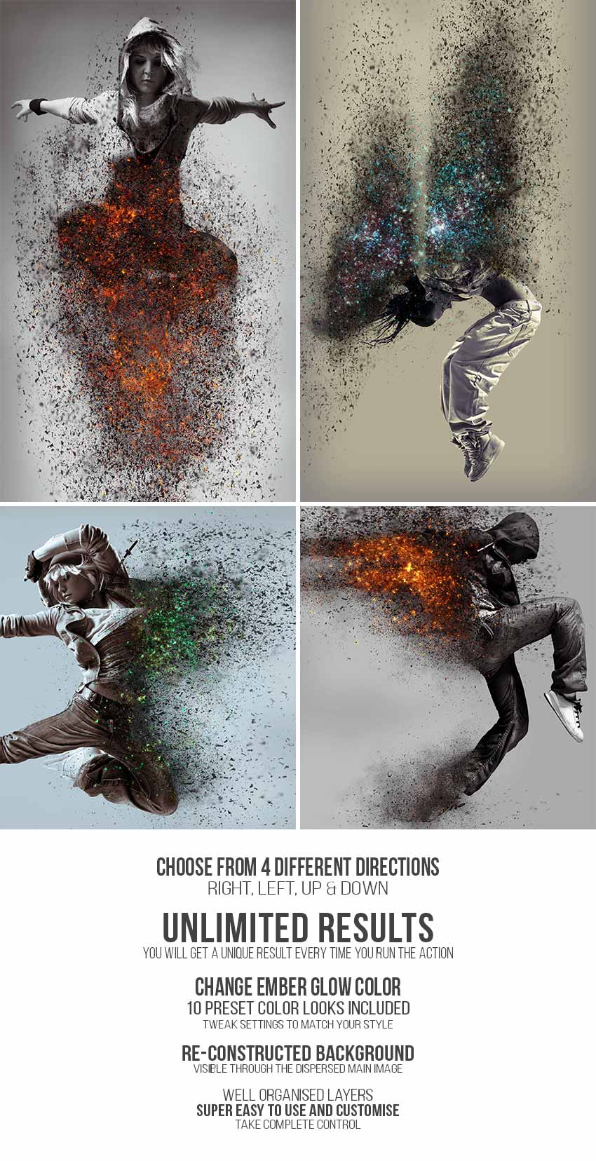 How to Create an Ashes & Embers Dispersion Action in Adobe Photoshop