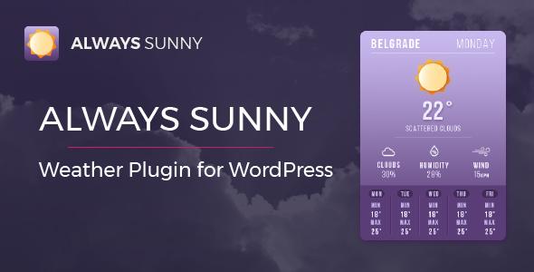 6 Best Weather WordPress Widgets & Plugins