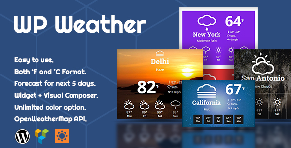 6 Best Weather WordPress Widgets & Plugins