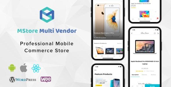 MStore Multi Vendor React Native Template