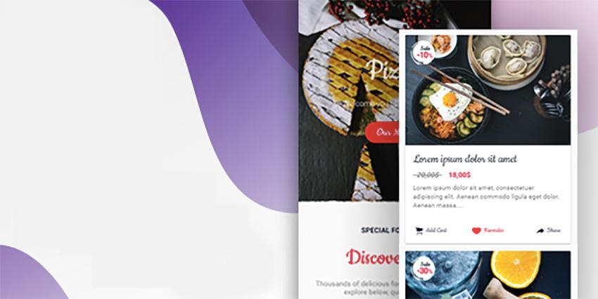 Ionic 3 Restaurant App