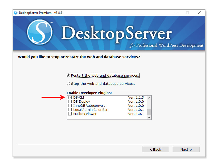 Installing WP-CLI Using DesktopServer