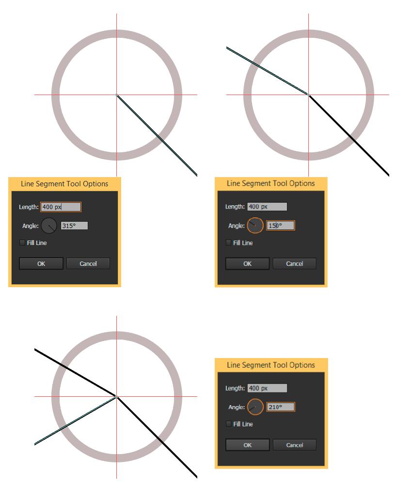 Create lines