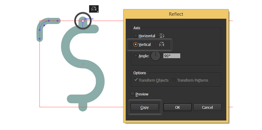 how to add anchors to a line segment in illustrator