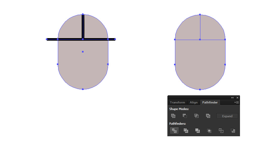 snap points to guide illustrator