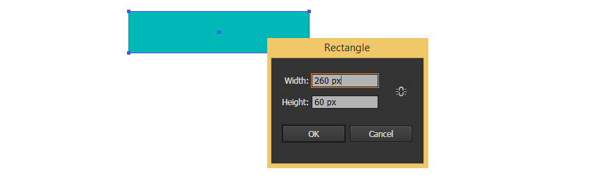 Create a rectangle