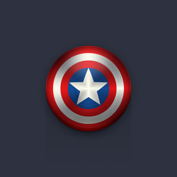 Create the captain america shield icon in adobe illustrator final product image toneelgroepblik Image collections