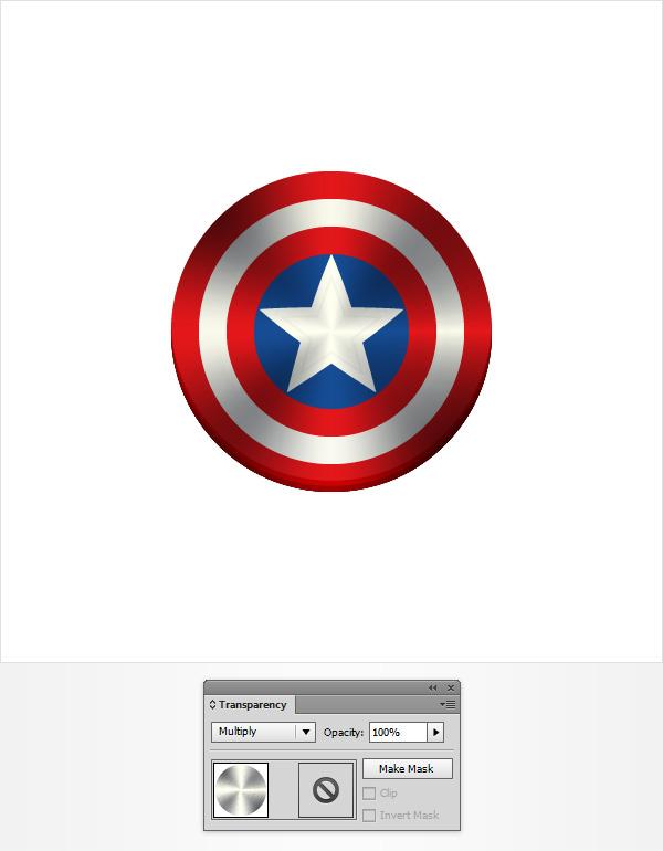 Create the captain america shield icon in adobe illustrator step 6 toneelgroepblik Image collections