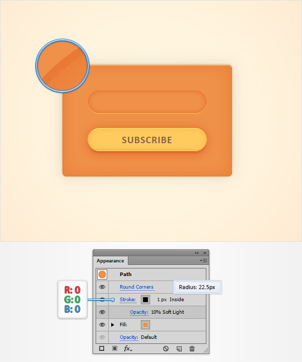 Subscription Web Element