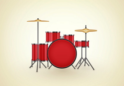 Link toCreate a drum kit illustration in adobe illustrator