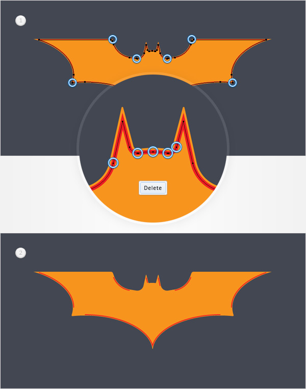 How To Create The Batman Dark Knight Logo In Adobe Illustrator