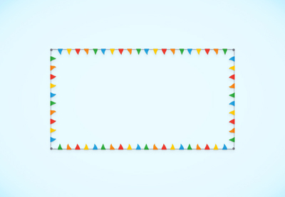 Link toHow to create a flag bunting pattern brush in adobe illustrator