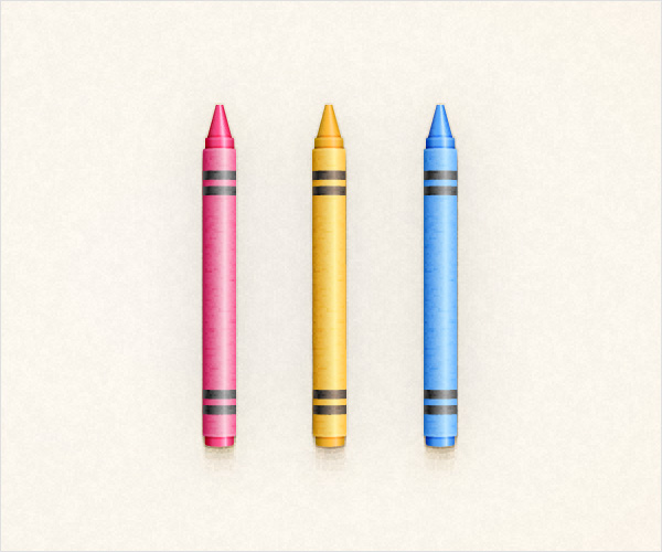 Crayons Illustration