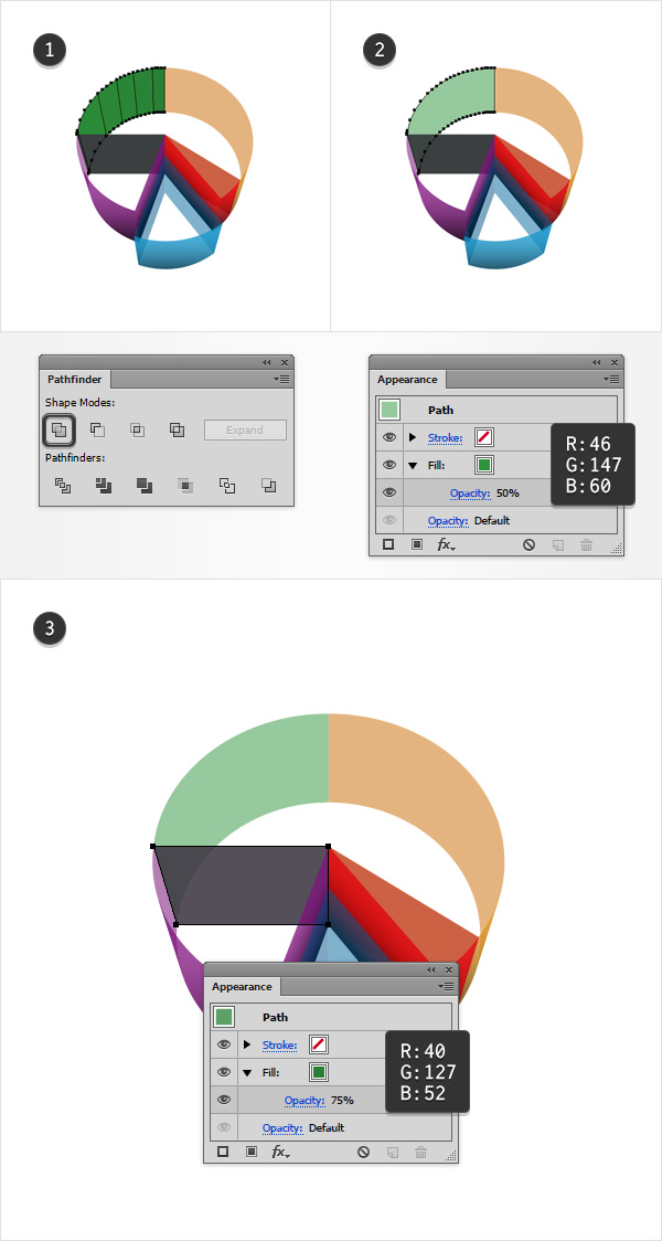 how to make a pie chart in illustrator
